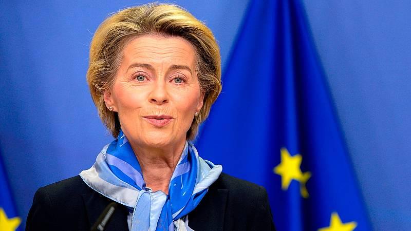 """Von der Leyen anuncia un acuerdo post-Brexit """"bueno, justo y equilibrado"""" entre la UE y Reino Unido"""