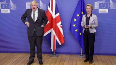La UE y el Reino Unido pactan la relación comercial tras el 'Brexit'