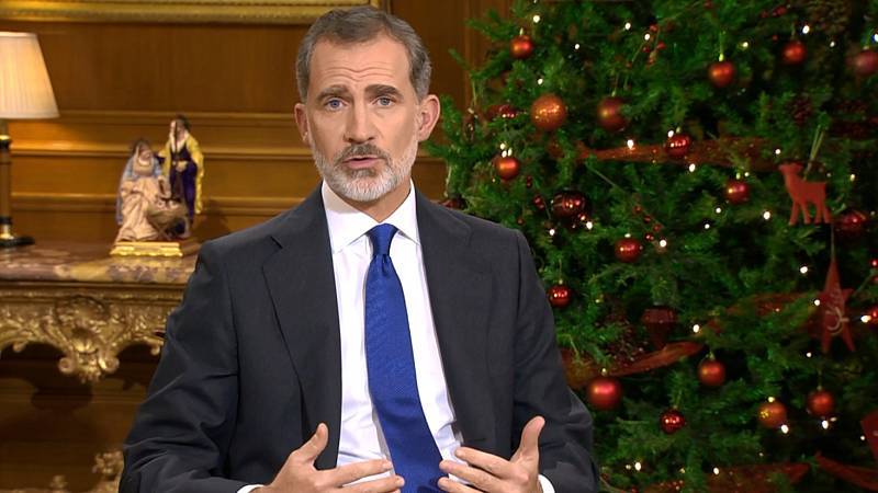 Mensaje de Navidad de Su Majestad el Rey de 2020, en lengua de signos