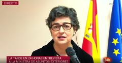 """Laya: """"Si no hay acuerdo, el 1 de enero Gibraltar será frontera externa de la UE"""""""
