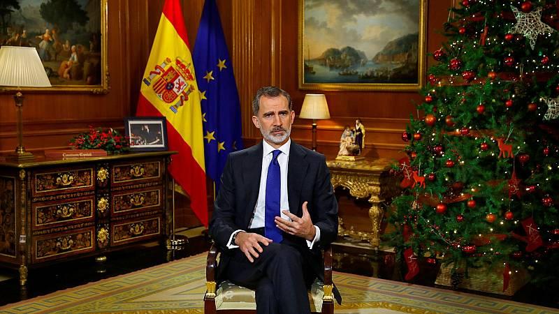 """Felipe VI afirma que todos """"sin excepciones"""" debemos cumplir los """"principios éticos y morales"""""""