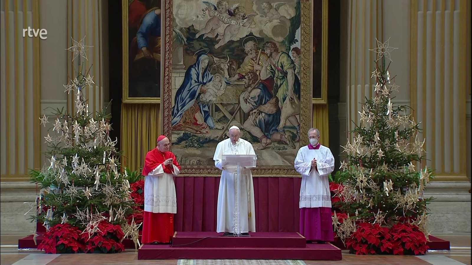 El Día del Señor - Misa de Navidad. Bendición Urbi et Orbi - ver ahora
