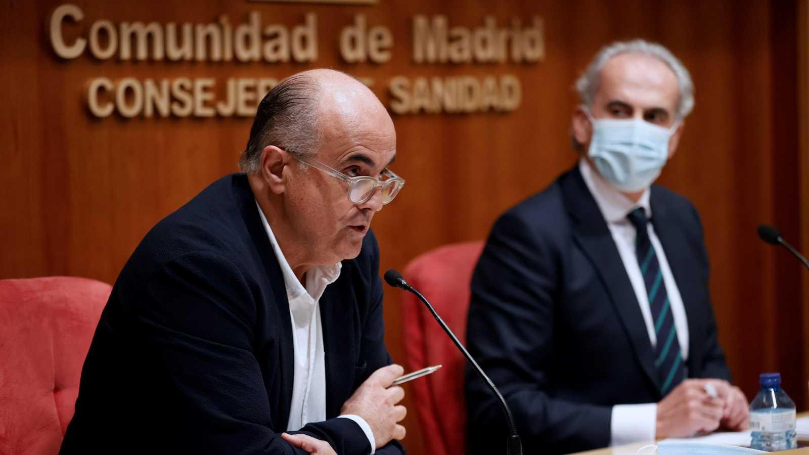 El viceconsejero de Salud Pública de la Comunidad de Madrid confirma cuatro casos de la variante británica del coronavirus