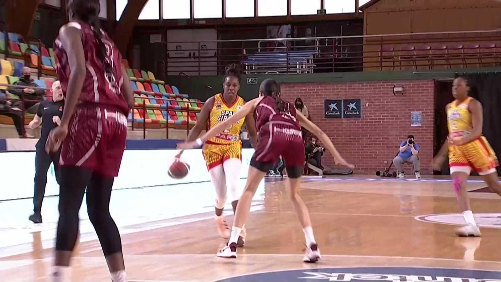 Baloncesto - Liga femenina Endesa. 18º jornada: Lointek Gernika - Spar Girona - ver ahora