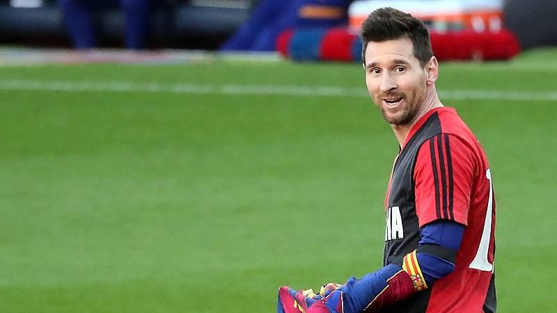 El Barça vuelve a los entrenamientos sin Messi, con permiso del club