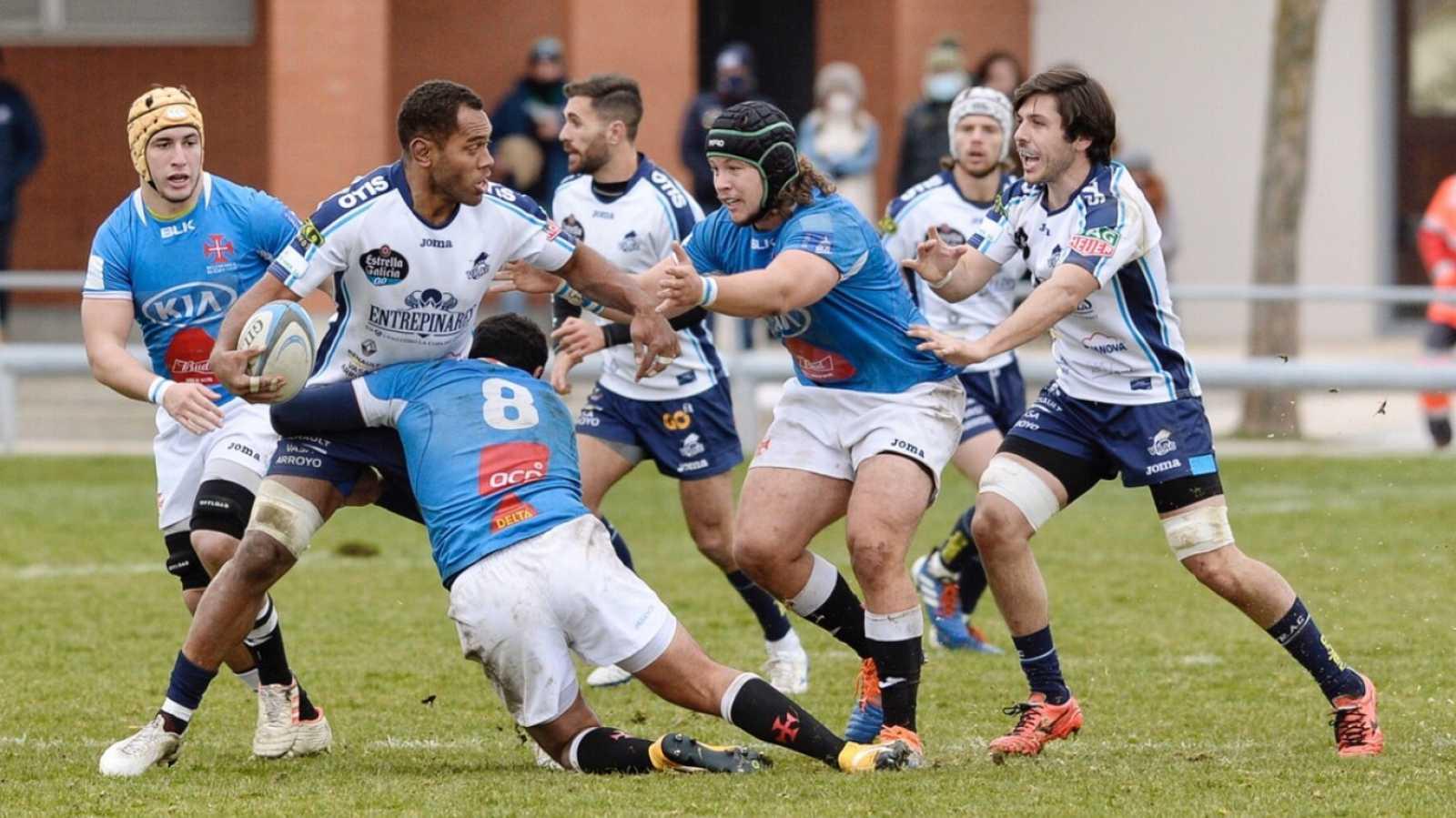 Rugby - Copa Ibérica masculina. Final: Vrac Quesos Entrepinares - Os Belenenses - ver ahora
