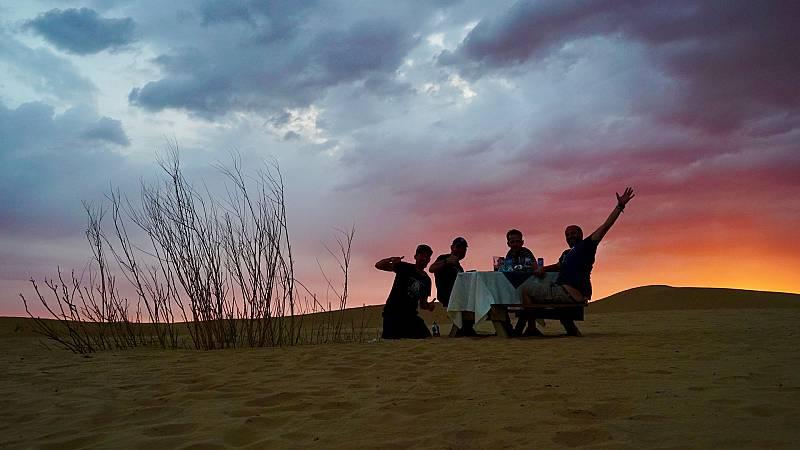 Diario de un nómada - Las huellas de Gengis Khan: despedidas de Oleg, Gengis y La Gorda - ver ahora