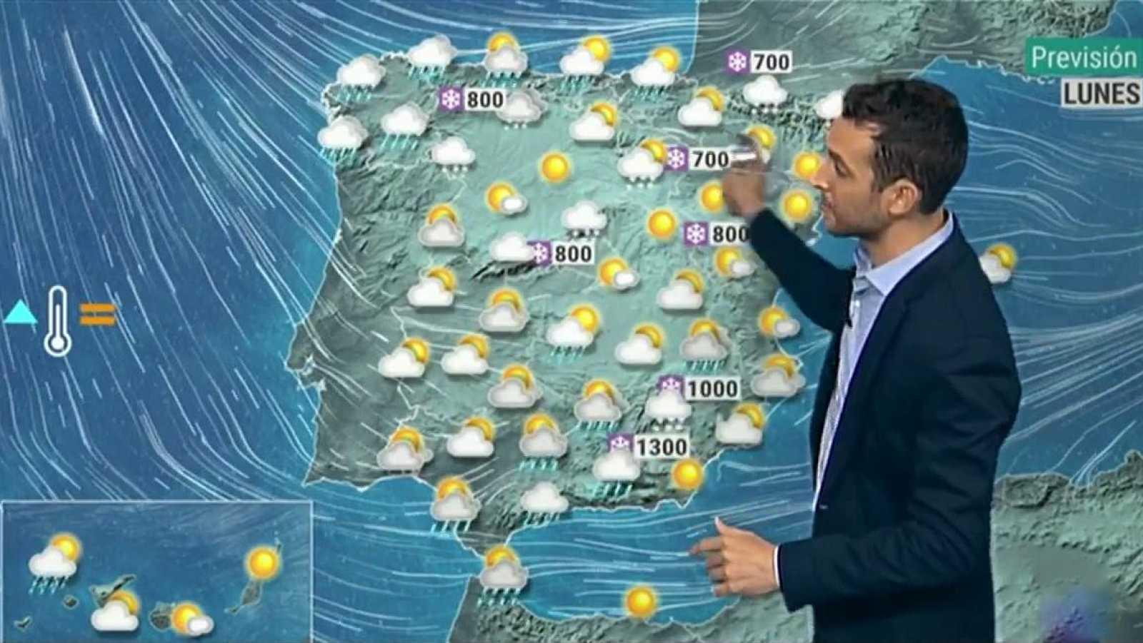La borrasca Bella dejará precipitaciones y fuerte oleaje en el norte