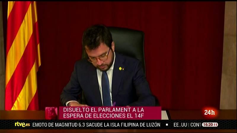 Parlamento - Otros parlamentos - El Parlament de Cataluña, disuelto y convocadas elecciones - 26/12/2020