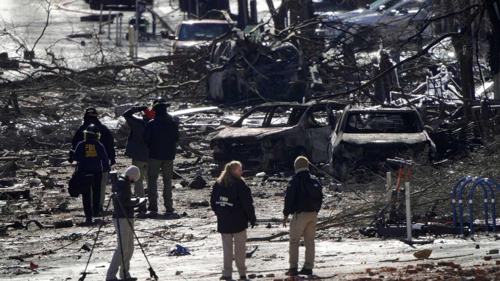 Identifican al autor de la explosión de Nashville el día de Navidad