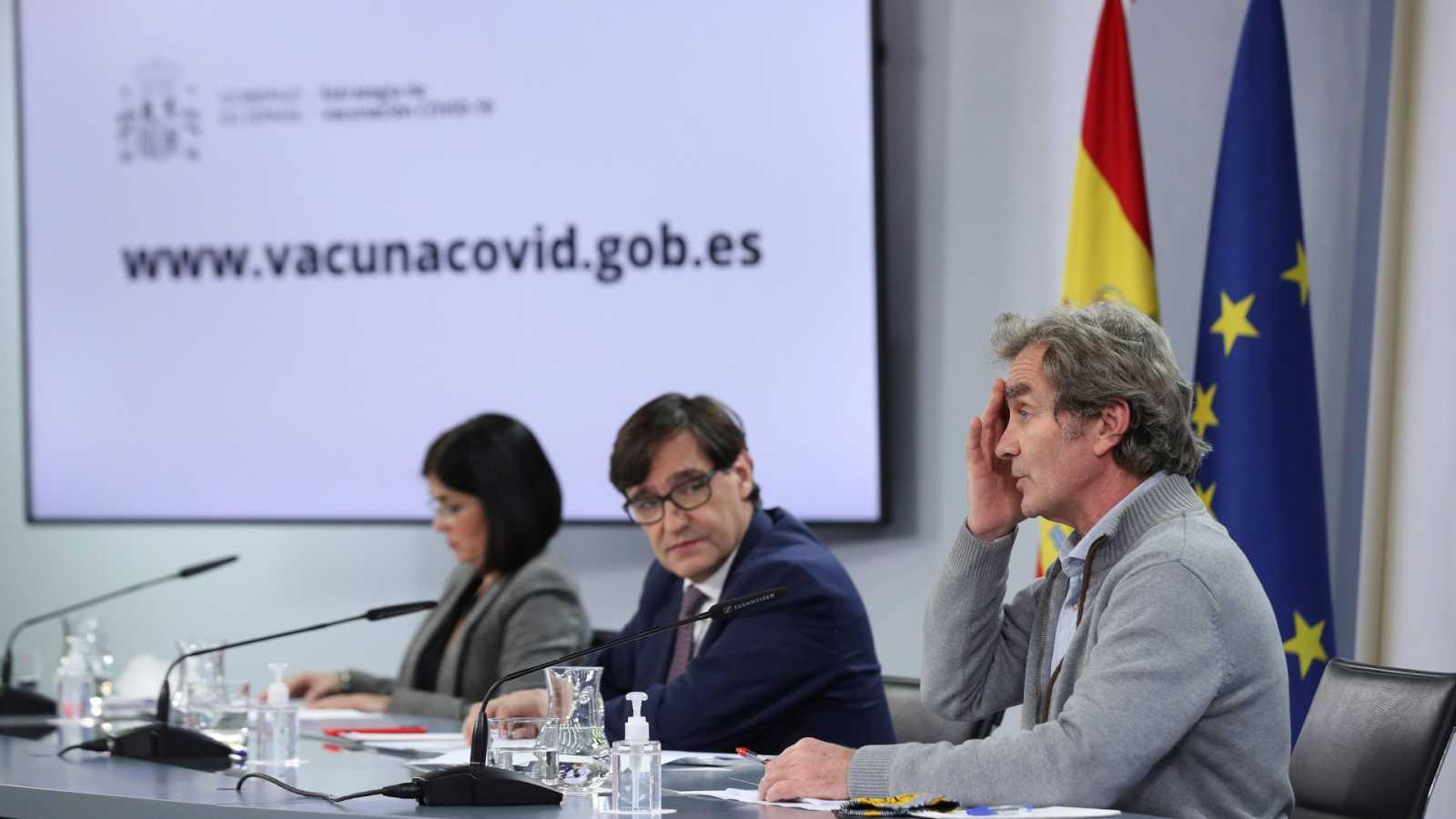 Especial informativo - Comparecencia de la ministra de Política Territorial, del ministro de Sanidad y del director del CCAES - 28/12/20 - ver ahora