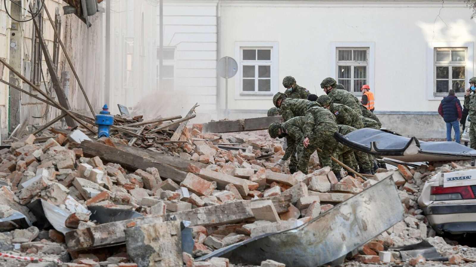 Un terremoto de magnitud 6,4 deja al menos una menor muerta y varios heridos en Croacia