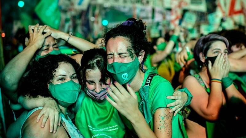 Argentina, cuarto país de América Latina en legalizar el aborto