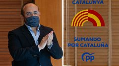 """El PP catalán critica a Illa por priorizar el 14F frente a la salud y mentir """"como un bellaco"""" sobre su candidatura"""