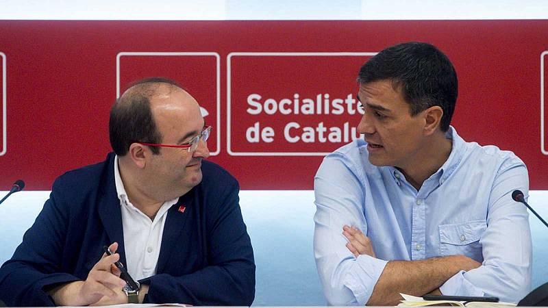 Iceta se reunió con Sánchez en noviembre y acordaron que Illa podía ser el candidato del PSC al 14F