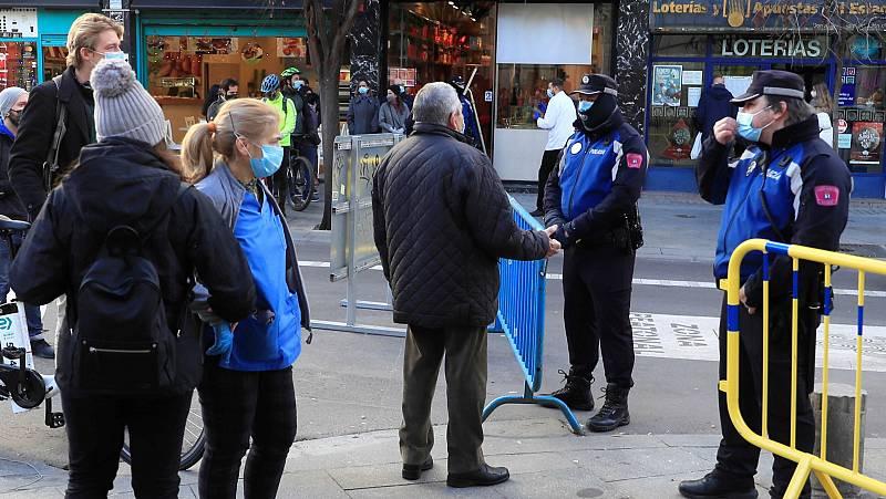 Refuerzo de la vigilancia policial durante la Nochevieja