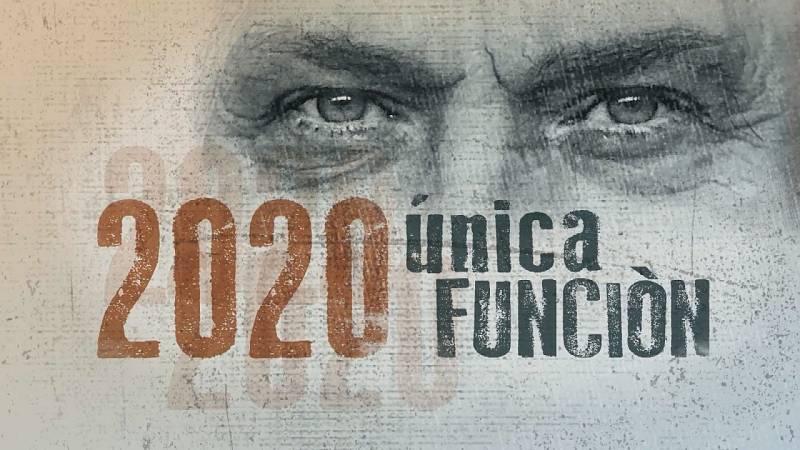 """""""2020, única función"""": los Telediarios dicen adiós al año con un reportaje interpretado por José Coronado"""