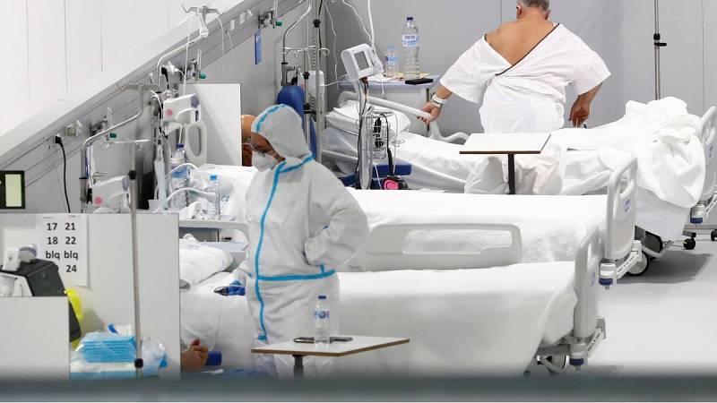Los sanitarios dicen adiós al 2020 con un aumento en la presión hospitalaria