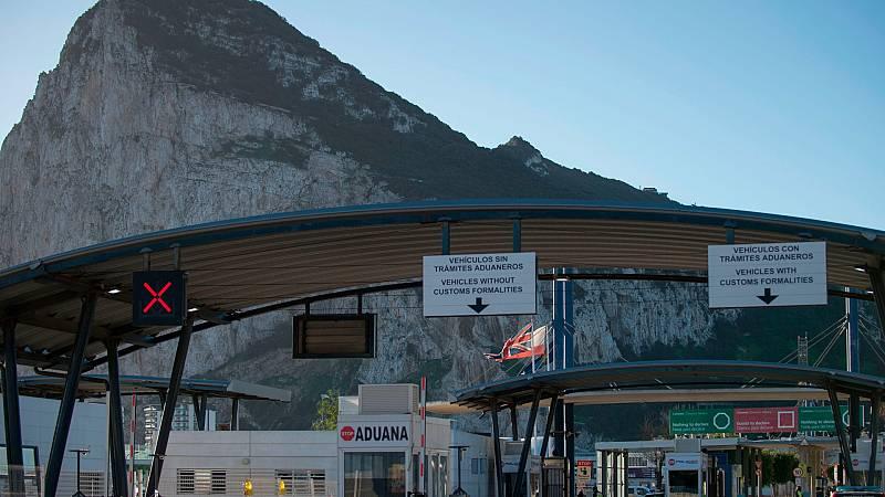 Primer día de entrada en vigor del 'Brexit' en Gibraltar