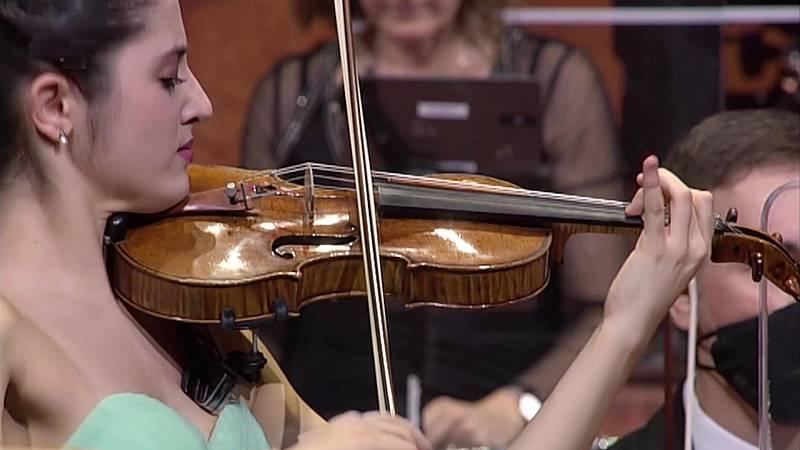 Los conciertos de La 2 - XXI Ciclo Jóvenes Músicos nº 1 Orquesta Sinfónica RTVE (parte 1) María Dueñas
