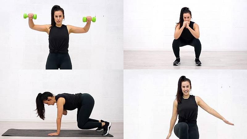 Tercer reto de Patry Jordan: ejercicios de alta intensidad (HIIT)