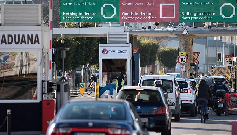 Normalidad en Gibraltar en el primer lunes laborable tras el 'Brexit'