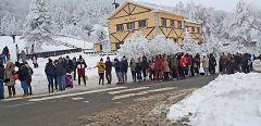 España Directo - Sensación térmica de menos 20 grados en Navacerrada