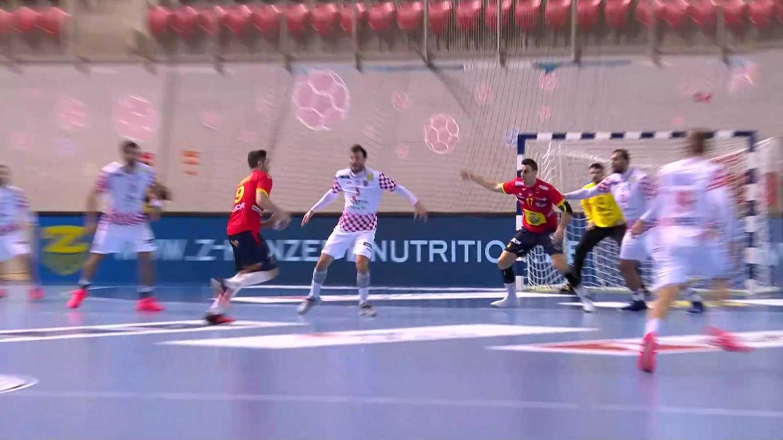 Balonmano - EHF Cup. Selecciones masculinas: Croacia - España - ver ahora