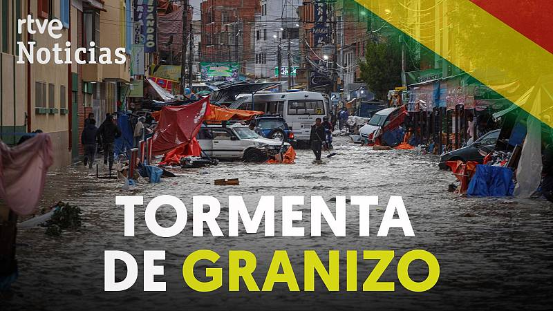 Al menos 4 muertos por una tormenta de granizo en Sucre, Bolivia