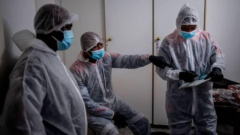 Las vacunas tardarán meses en llegar a África