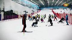 Esquí - Campeonato de España de esquí adaptado