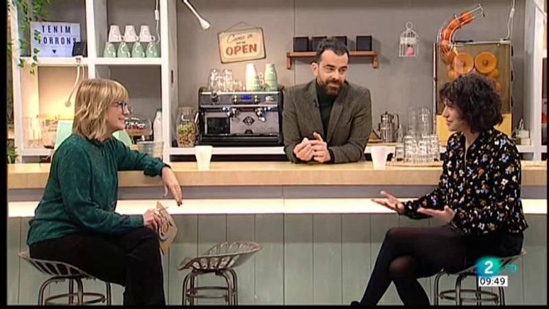 Gemma Nierga entrevista Elena Gadel i David Selvas, al Cafè d'idees