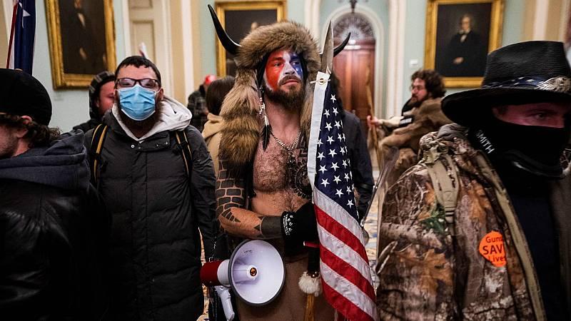 Las imágenes del asalto al Capitolio por parte de los partidarios de Trump