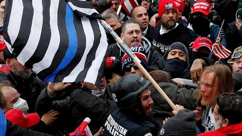 ¿Quiénes son los extremistas que asaltaron el Capitolio?
