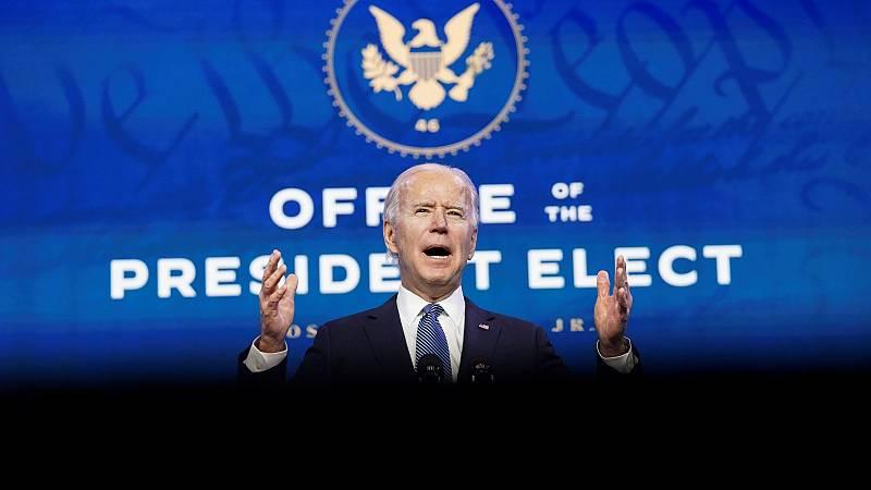 """Biden califica el asalto al Capitolio como """"terrorismo doméstico"""""""