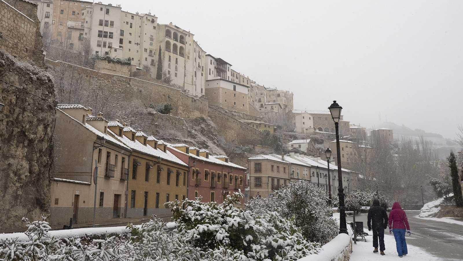 La borrasca Filomena cubre España de nieve