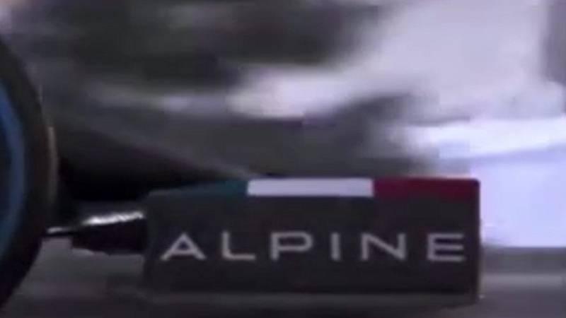 Primeras imágenes del monoplaza de Alonso