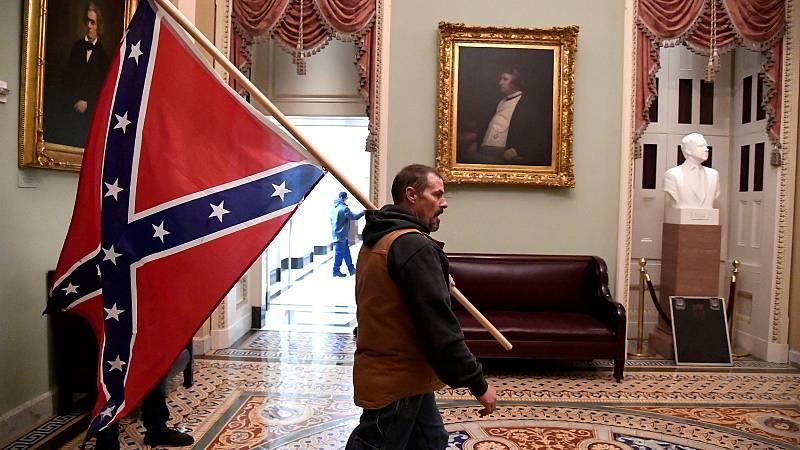 Grupos de ultraderecha se reivindican como fuerza política en Estados Unidos con el asalto al Capitolio
