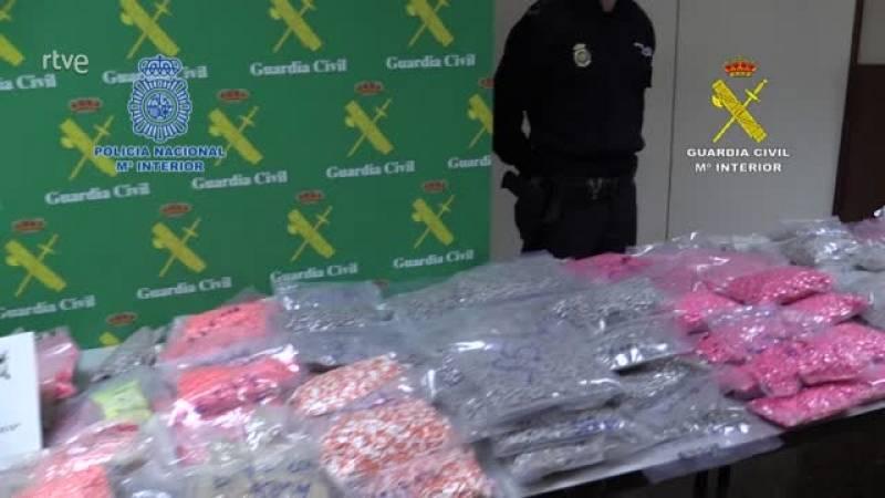 11 detinguts en l'operació més important a Espanya contra el tràfic de drogues sintètiques