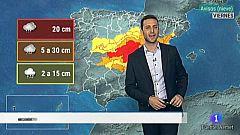 El tiempo en Extremadura - 08/01/2021