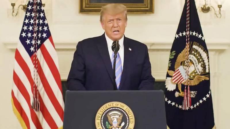 """Trump reconoce su derrota electoral y dice a sus seguidores que """"pagarán"""" por el asalto al Capitolio"""