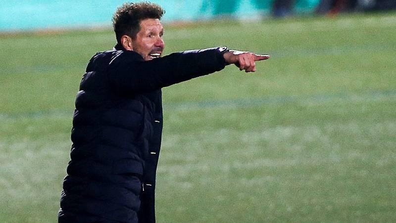 """Simeone: """"Siempre digo que me pueden echar mañana, hay que pensar en el partido a partido"""""""