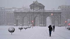 La nieve complica la movilidad en la Comunidad de Madrid