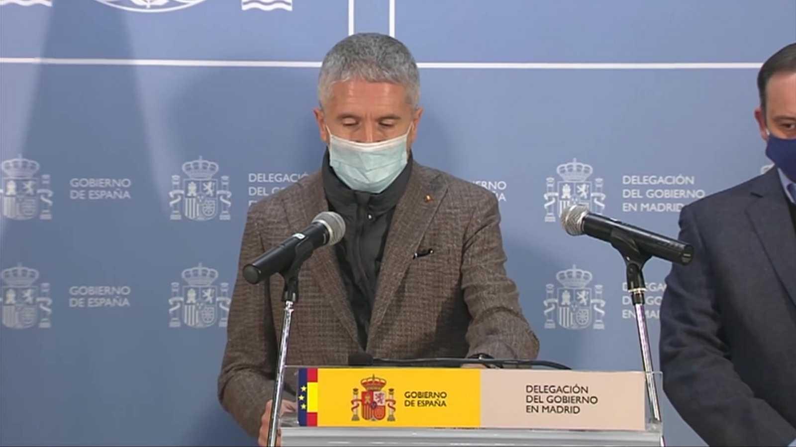 """Especial informativo - Comparecencia por la situación provocada por el temporal """"Filomena"""" - 09/01/21 (2) - ver ahora"""