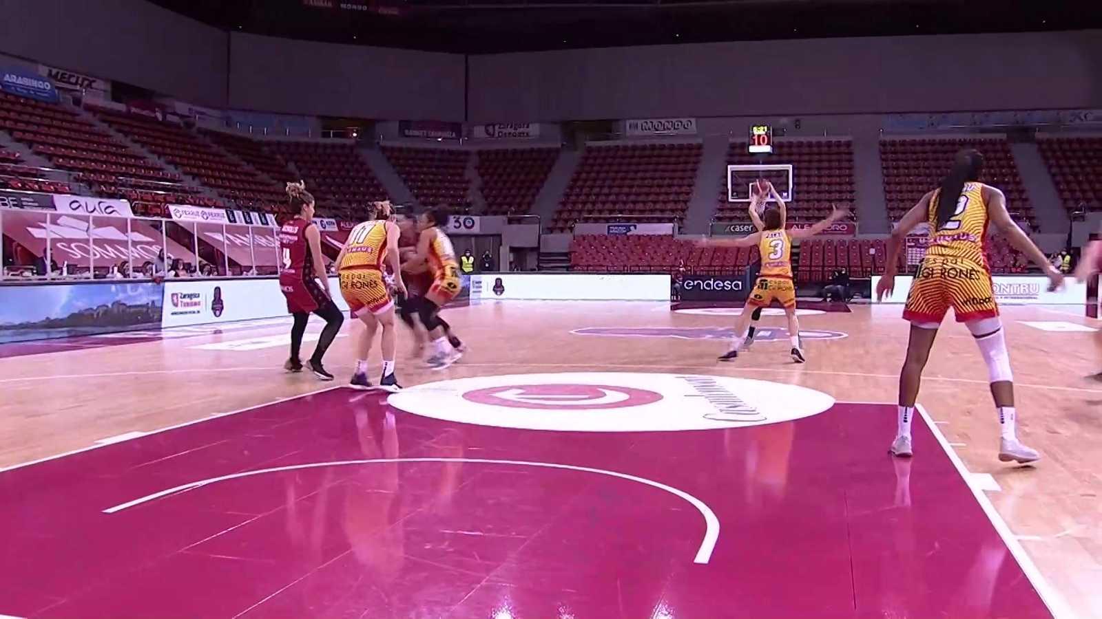 Baloncesto - Liga femenina Endesa. 20ª jornada: Casademont Zaragoza - Spar Girona - ver ahora