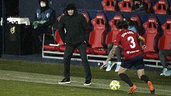 """Zidane, tras empatar en Pamplona: """"No ha sido un partido  de fútbol, tenía que haberse aplazado"""""""