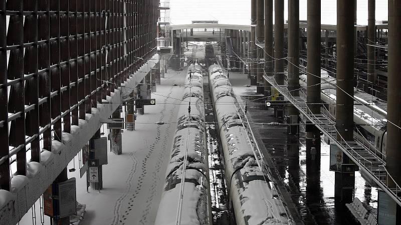 Madrid reanuda la circulación de trenes tras el temporal Filomena