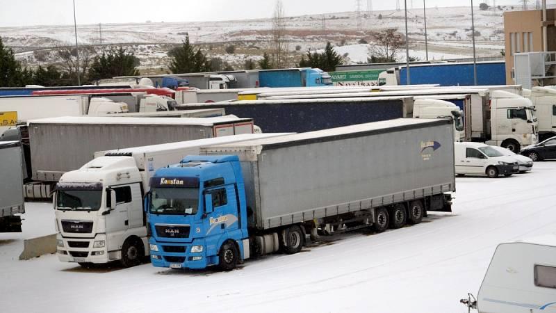 Comienzan a circular los camiones retenidos por el temporal