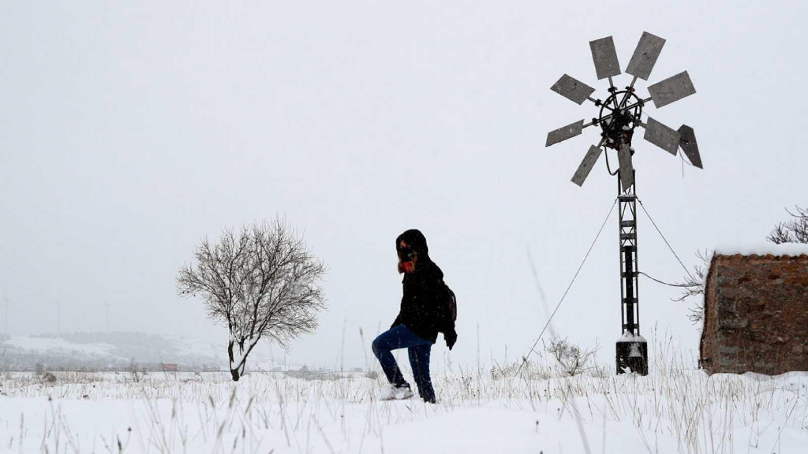 Un anticiclón atlántico que se extiende sobre el país traerá una ola de frío