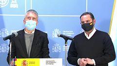 """Especial informativo - Comparecencia por la situación creada por el temporal """"Filomena"""""""